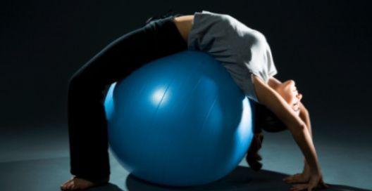 гимнастика на мяче