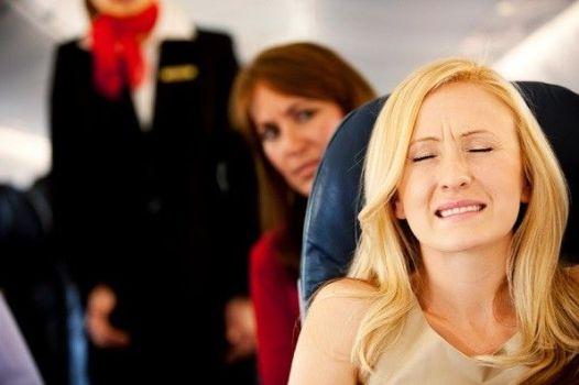 приступ в самолете
