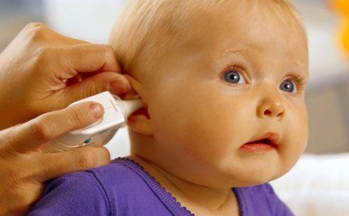 диагностика уха у ребенка