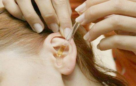 лечение каплями для ушей