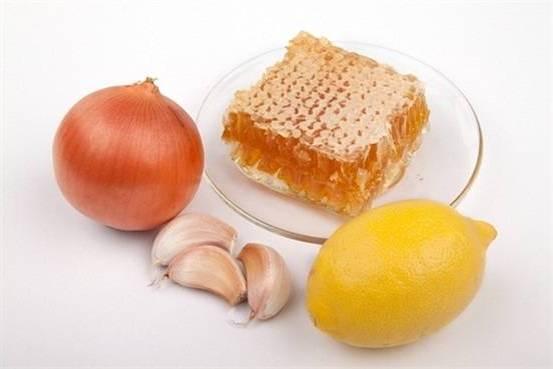 народные средства лук чеснок лимон