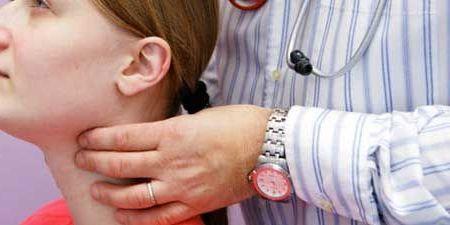 прощупывание щитовидки
