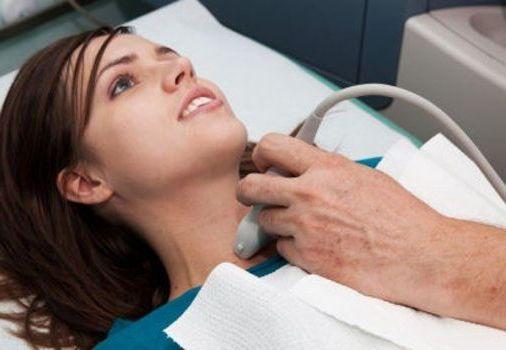 на диагностике щитовидки