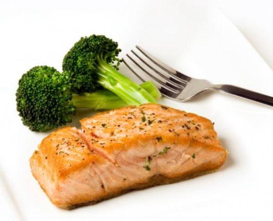 филе рыбы с брокколи