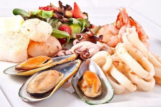 богатые йодом морепродукты