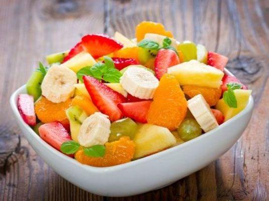фруктово овощной салатик