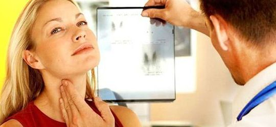 рентген щитовидной железы