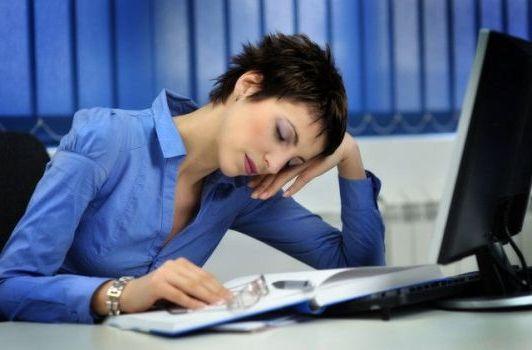 утомление на работе