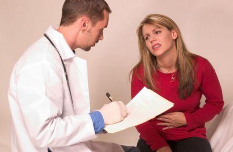 на приеме у врача гастроэнтеролога