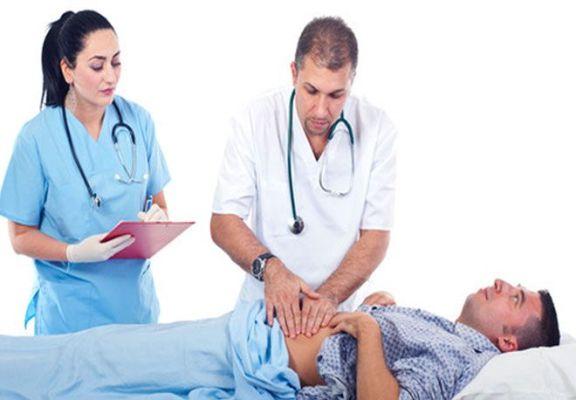 диагностика язвы у врача