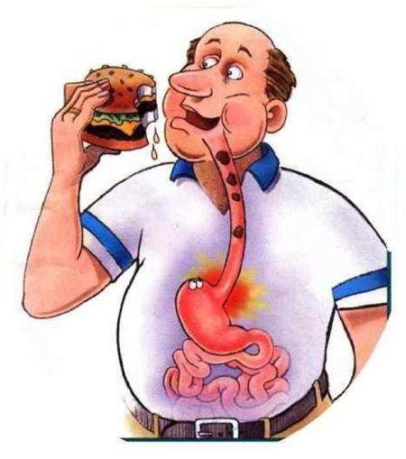 неправильное питание дорога к гастриту