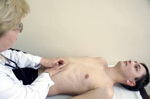 пальпация желудка