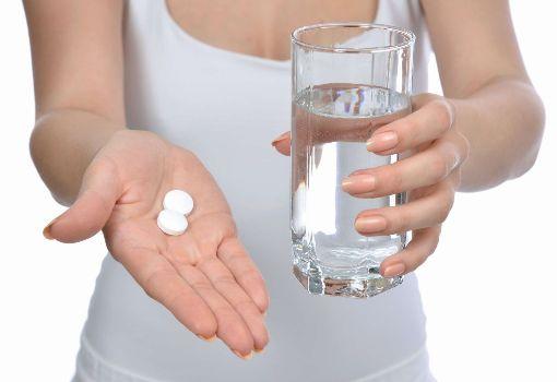 таблетки запить водой