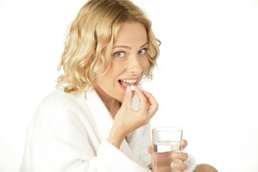 таблетку принимать с водой