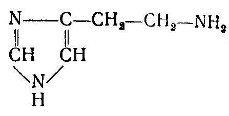 формула антигистаминного препарата