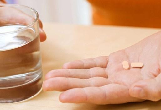 по 2 таблетки