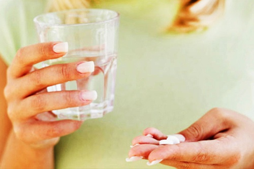 таблетки запивать водой