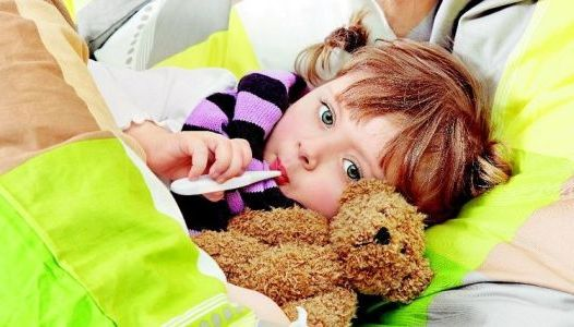 ребенок заразился вирусом